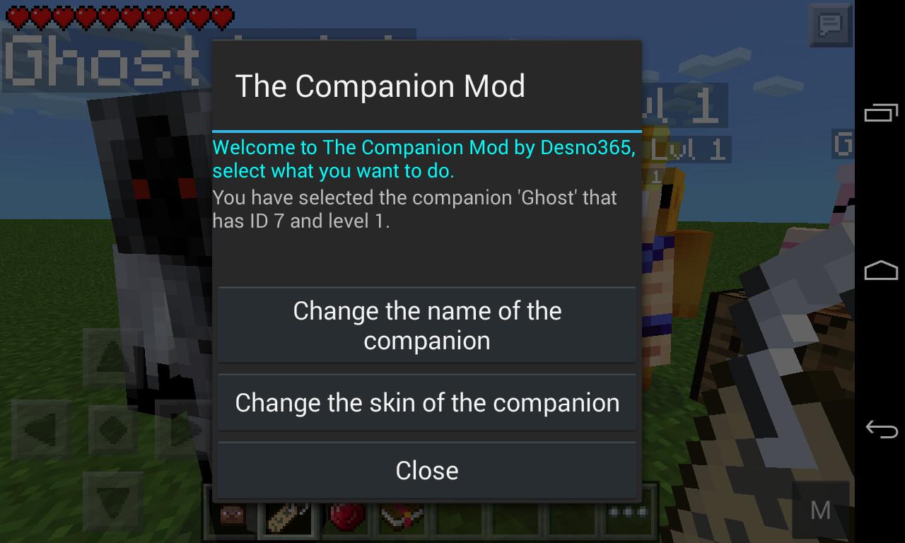 companion mod 3