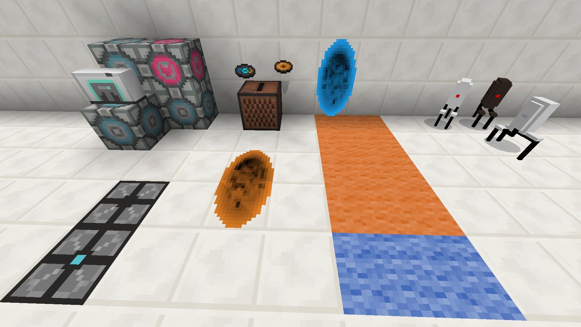 MOD] Portal 2 Mod | Portal Gun | r015 | by Desno365 - MCPE